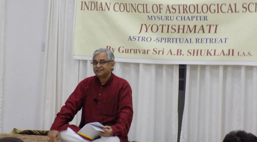 Jyotishmati: International Retreat on  Rationale of Nadi and Spiritual Remedies by Sri AB Shuklaji, Hon. National President, ICAS