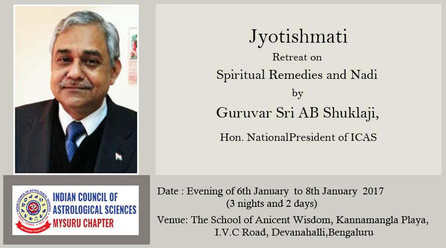 Jyothishmati – Retreat on Spiritual Remedies and Nadi