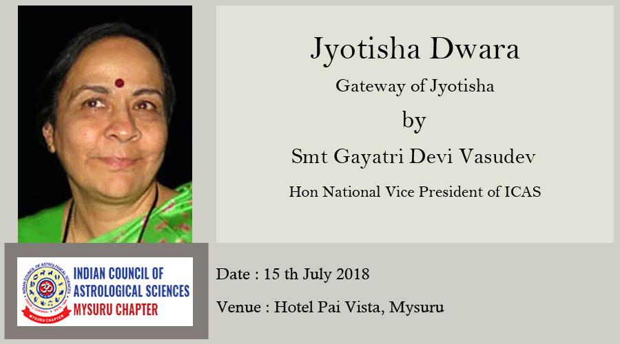 Jyotisha Dwara – Gateway of Jyotisha